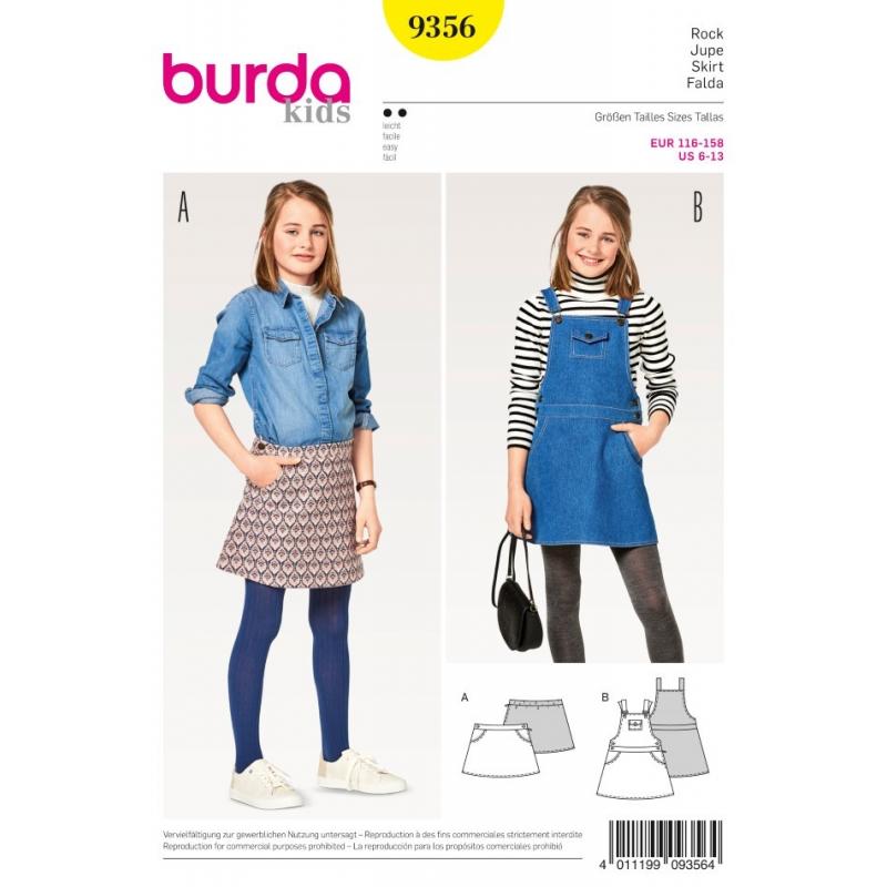 Střih Burda číslo 9356