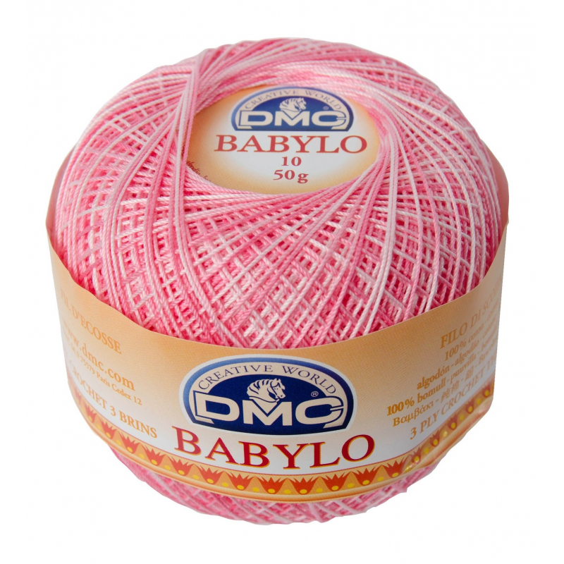 Babylo 50g Růžová melír