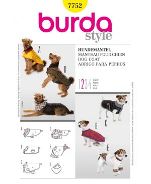 Střih Burda číslo 7752