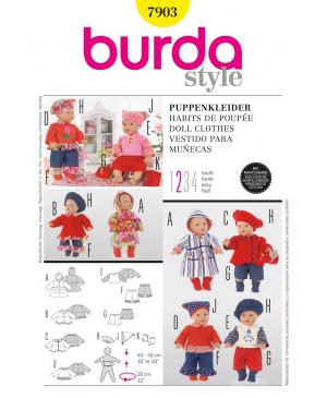 Střih Burda číslo 7903