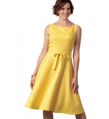 b8068ca018e6 Střih Butterick 4443 áčkové šaty